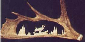 Antler Carvings