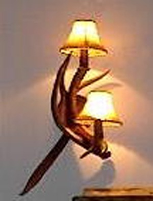 Mule Deer Wall Sconce