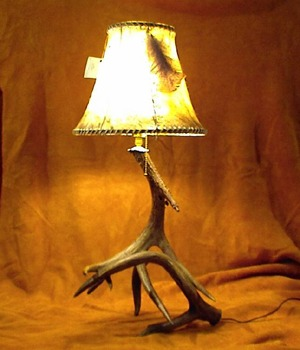 Whitetail Deer Antler Lamp