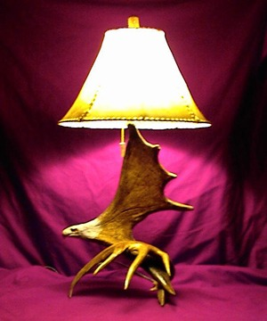 Anlter Mantle Lamp
