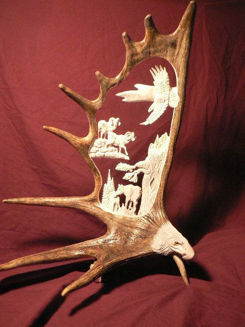 Moose Anlter Design
